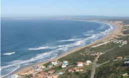 Super imposed - Moquini Beach Hotel & Apartment Site - west view
