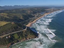 Wilderness Aerial of beach
